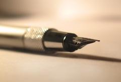 первая ручка