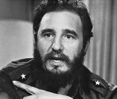 Фиделем Кастро