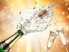 рождения шампанского
